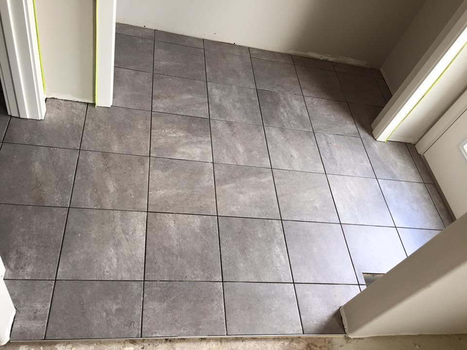 Install Bathroom Tile Floor